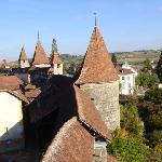 Ancient ramparts in Murten