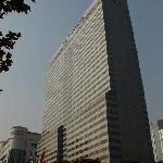 江南駅の真上にあるグランドインターコンチネンタル