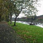 A walk by the river in Dumfries