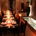 patio -salle à manger