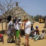 moi dans un village peuls