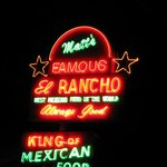 Matt's Famous El Rancho neon sign
