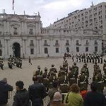 Santiago Chile Cambio de Guardia 1