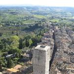 View from San Gimignano's Torre Grossa