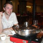 Steamboat meal at Chinoise restaurant