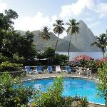 View from Piton View Room