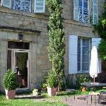 Toulemon's Rear entrance/courtyard