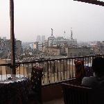 Breakfast terrace of the hotel