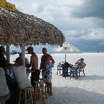 Beach Bar! Great way to start our stay!