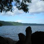 Relaxing at Laguna de Apoyo