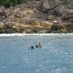first snorkel spot
