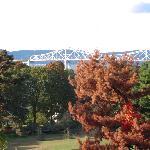 The view of the bridge