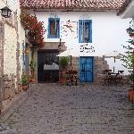 Entrance to Casa San Blas