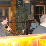 night life in pub--live Irish music