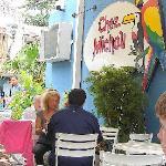 La crepería Chez Michou, en la Rúa das Pedras
