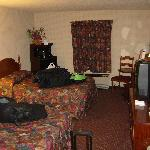 Our room... don't mind the mess we made :)