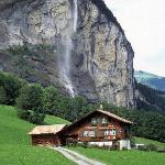 Lauterbrunnen valley below Wengen