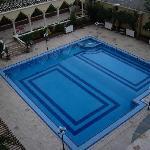 Swimming pool at the Harran Hotel