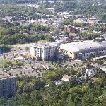 Embassy Suites As Seen From The Hot Springs Mountain Tower