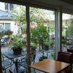 Sala colazione - vista patio