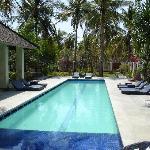 Villa Marina pool day