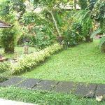Garden view from our veranda