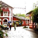 Streets outside Paradise Inn, Goa