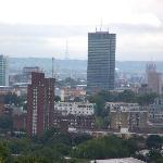 Londres vu de la colline d'Hampstead