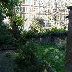 Le jardin (chambre 9)