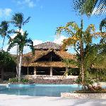 La piscina centrale del villaggio