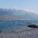 Öffentlicher Strand in Limone