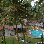 Prainha Resorts - the pool. The beach on one side, the restaurant on the other