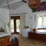 room with spa