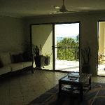 main room with balcony