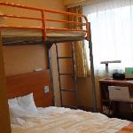 ホテルの部屋(ロフト付き)