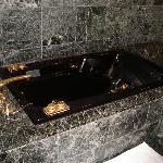 ゴージャスな浴槽です。