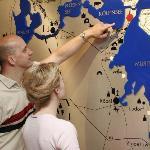 Lage im Herzen der Mecklenburgischen Seenplatte
