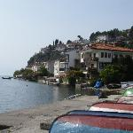 View of Ohrid & lake