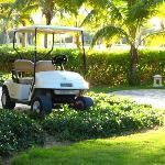 Personal golf cart