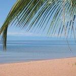 Bilharzia-free freshwater beach