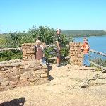 Lake mIneral Wells lookout