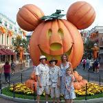 Halloweentime at Disneyland