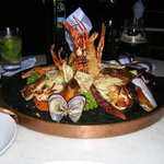 The seafood platter for two was a feast and will be remembered for a long time.