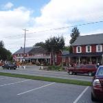 route de Lancaster à Intercourse en Pays Amish