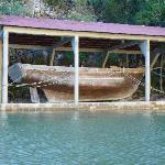 Salvaged remains of Cofresi's Schooner