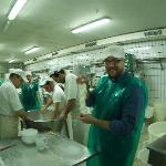Making cheese at Michaelangelo's cheese factory