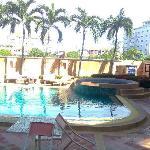 Swimmingpool skaw beach hotel