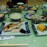Japanese style breakfast - delicious!