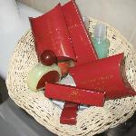 the toiletry basket