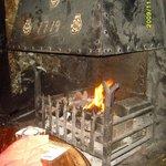 Queens Head Inn Fire place